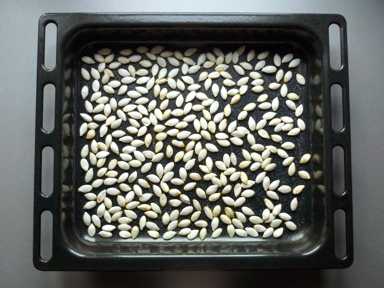 Apéro d'Halloween : les graines de potiron