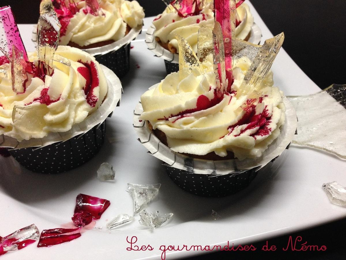 Cupcakes Dexter pour Halloween