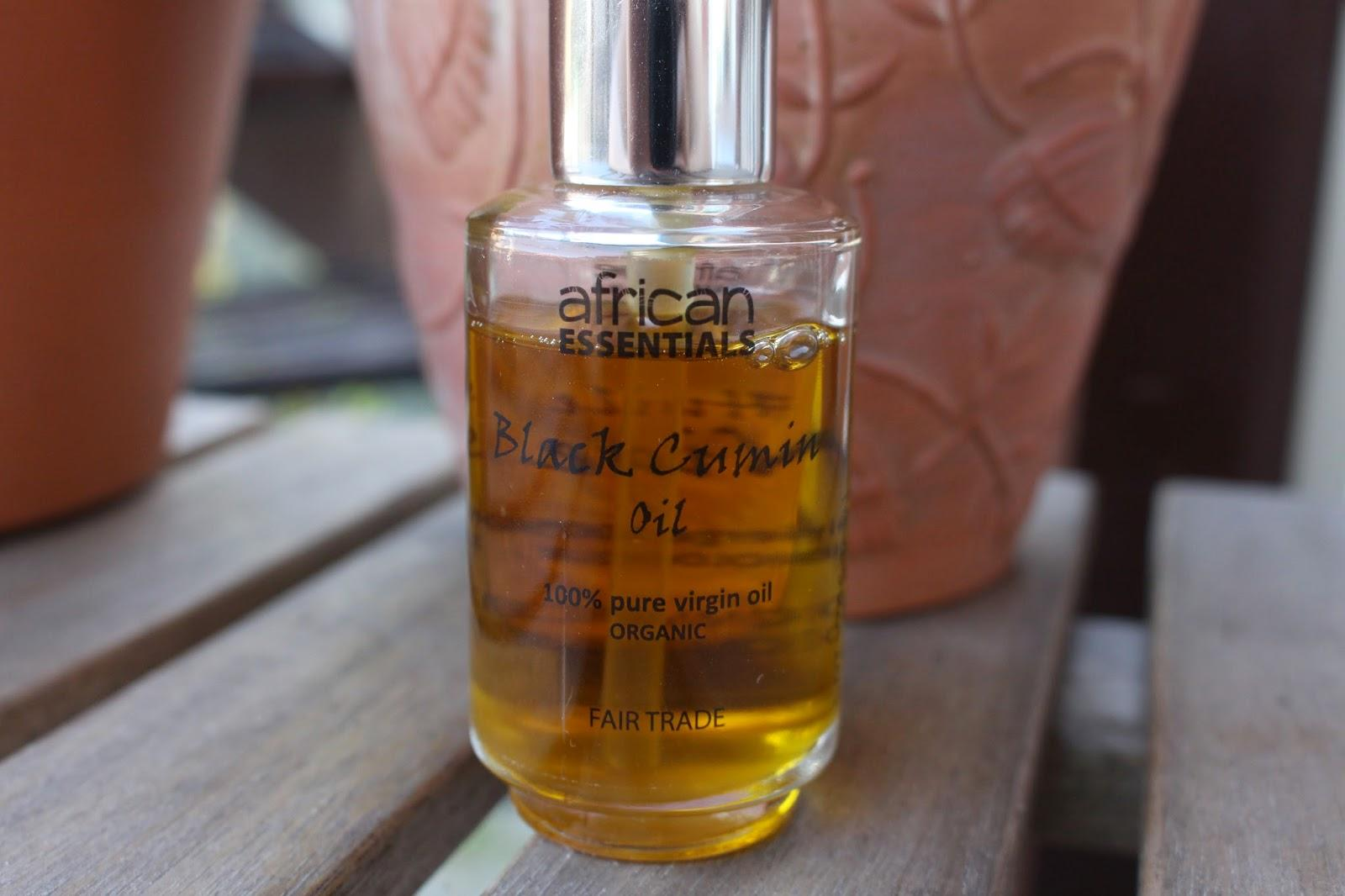 L'huile de nigelle de Afrique Essentials (Black cumin seed oil)