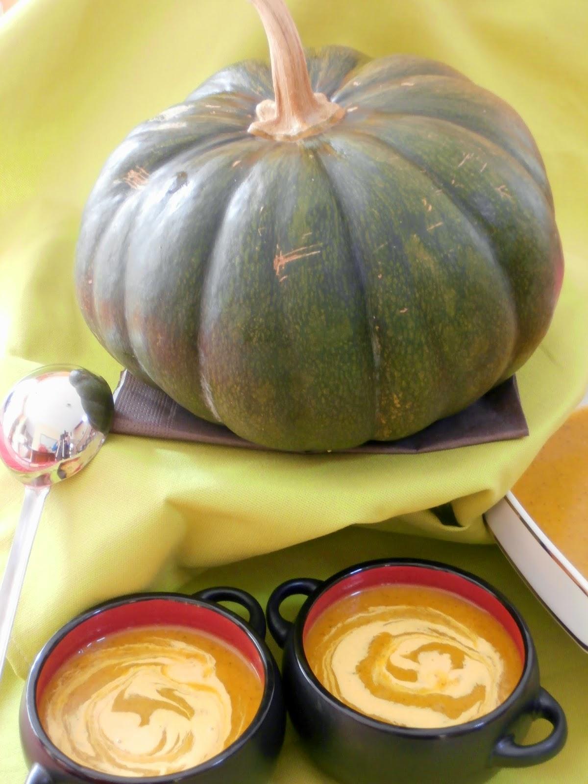 Soupe Citrouille & Riz