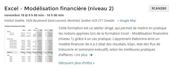 Modélisation financière