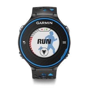 Montre GPS de course à pied dotée d'un écran couleur tactile haute résolution permettant de calculer les distances parcourues, l'allure et la fréquence cardiaque¹ Calcule votre temps de récupération et votre VO₂ max lorsque vous l'utilisez avec un mo...