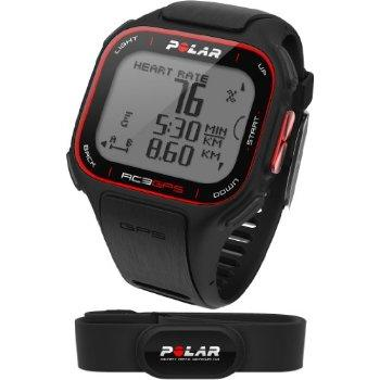 POLAR GPS RC3 HRM (avec le cardio).POLAR GPS RC3 HRM, GPS cardio polar hyper léger et intégré dans la montre pour avoir votre vitesse et distance en temps réel en plus de vos pulsation ainsi que votre dénivelé.POLAR leader du cardiofréquencemètre arr...
