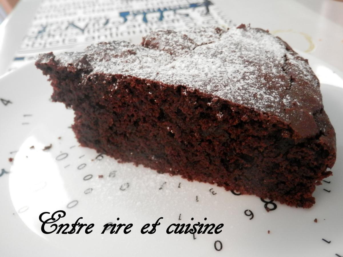 G teau hyper moelleux au chocolat sans oeufs paperblog - Fondant au chocolat sans oeuf ...