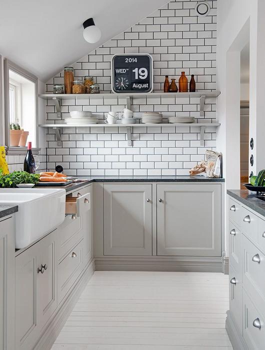 30 id es de cuisine scandinave voir for Cuisine 3 x 3