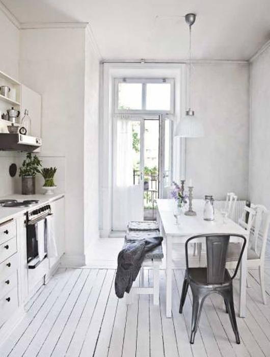 Decoration cuisine scandinave for Idee deco cuisine avec deco vintage scandinave