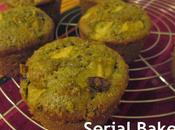 Muffins pomme, vert matcha cranberries