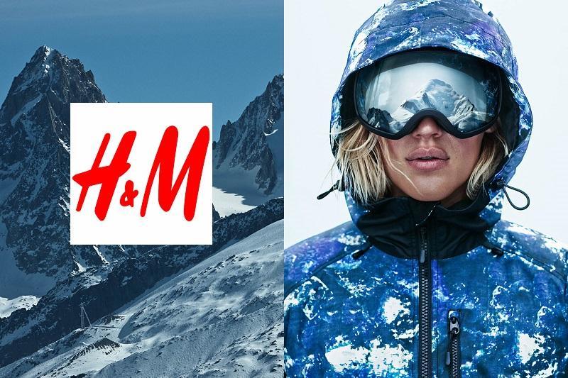 Partez au ski avec la collection Sport d'H&M!