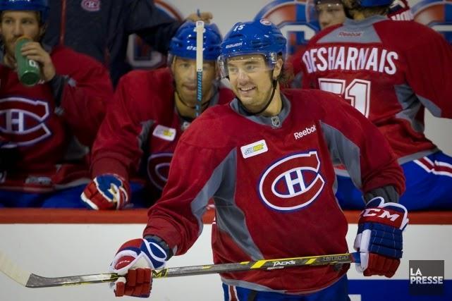 Canadiens : «On ne joue pas du bon hockey» - Parenteau