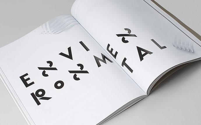 Identity, typography and images made by Sawdust