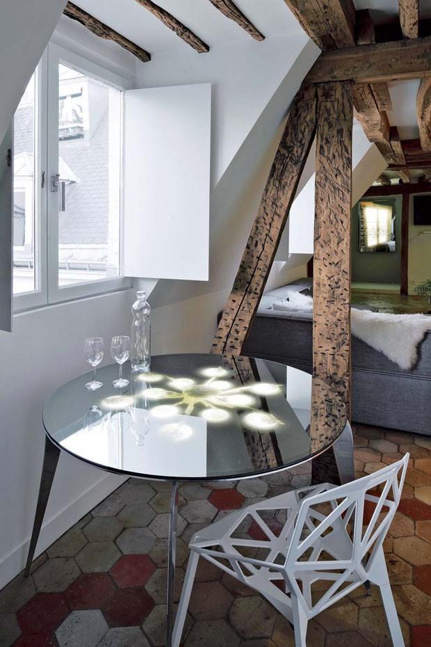 un duplex atypique de verre et de v g tation paris voir. Black Bedroom Furniture Sets. Home Design Ideas