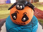 Gâteau citrouille spécial Halloween