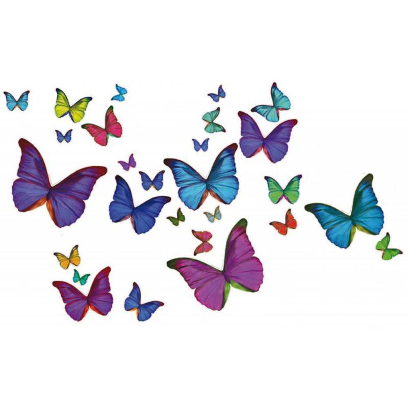 Fleurs de printemps dessin couleur - Papillon dessin couleur ...