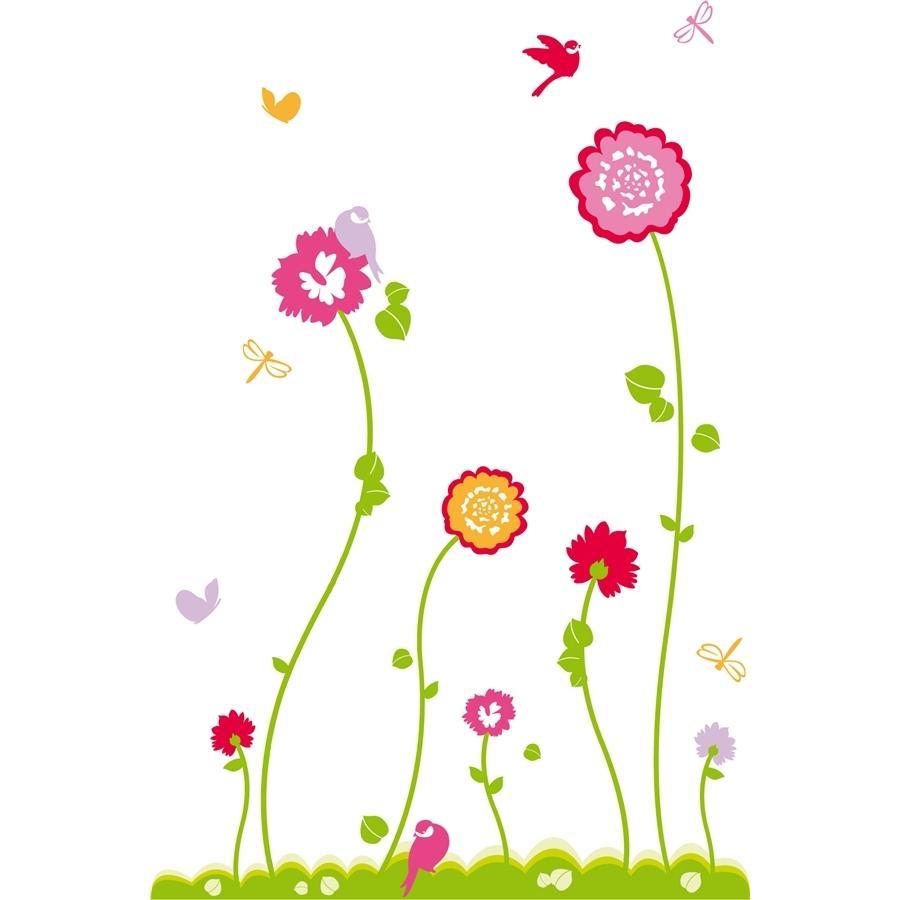 Fleurs printemps dessin couleur for Fleurs et fleurs