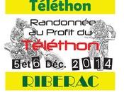 Rando moto Téléthon Ribériac (24) décembre 2014