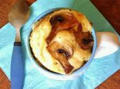 cake salé façon quiche lorraine lardons champignons