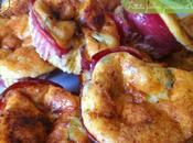 Frittata jambon, parmesan cébette
