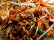 nouilles sautées poulet (Phad Thaï)