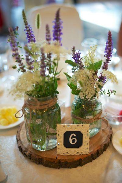 Une déco de table rustique et vintage pour mon mariage