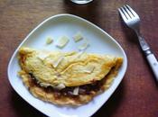 omelette roulé cèpes parmesan