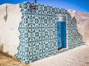 artistes venus pays différents transforment village tunisien galerie ciel ouvert Street