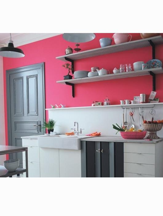 Deco cuisine rose gris belle cuisine nous a fait l for Deco cuisine rose