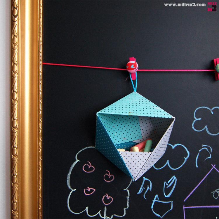 diy tableau d 39 cole p le m le paperblog. Black Bedroom Furniture Sets. Home Design Ideas
