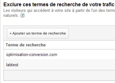 google-universal-analytics-exclusion-terme-search-optimisation-conversion