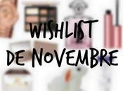 Wishlist novembre