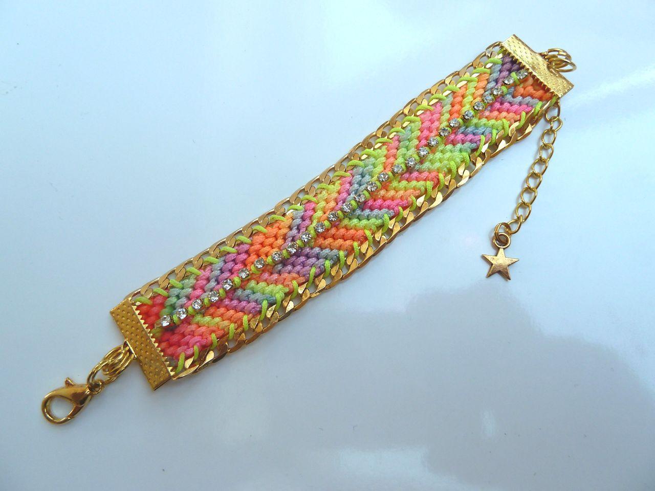 Tuto diy bracelet copacabana paperblog - Bracelets bresiliens originaux ...