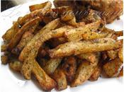 Pommes terre frites four