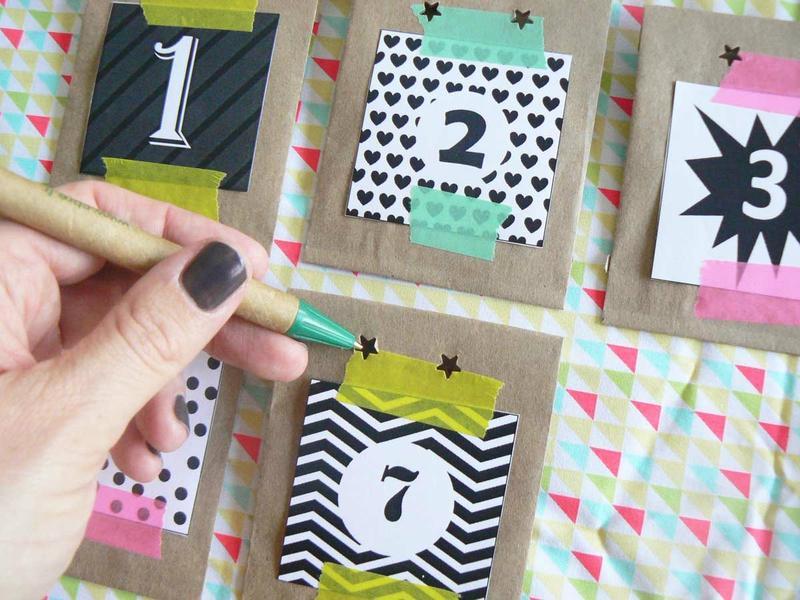 Diy le calendrier de l 39 avent pour grands parents free printable voir - Chiffres pour calendrier de l avent a imprimer ...