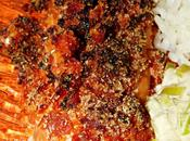 Saumon croustillant chorizo