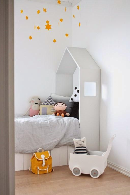 D co tendance le noir et blanc pour les chambres d 39 enfant for Petite chambre d enfant