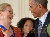 Obama déclare amour Meryl Streep (vidéo)