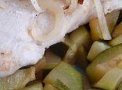 Poulet citron vert courgettes