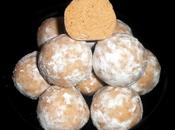 Truffes chocolat blanc, crème marron rhum ambré