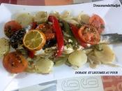 Dorade légumes four