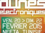 Aujourd'hui blog parle festival #LesDunesElectroniques: programme musique, danse vidéo dans désert tunisien décors #StarWars (Mais Oui!)