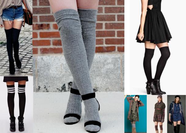 Comment bien porter les chaussettes hautes d couvrir - Comment porter les chaussettes hautes ...