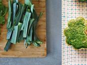 recycle même légumes Petits flans fanes radis verts poireaux bacon