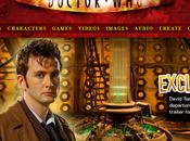 page d'accueil site Doctor BBC, c'est nul.