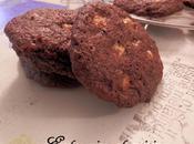 Cookies Chocolat lait/Cacao Pépites chocolat blanc