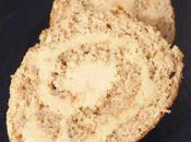 Pain d'épices roulé foie gras (idée d'entrée pour fêtes)