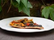 Tarte légumes grillés tapenade