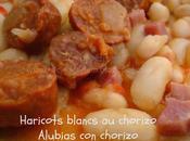 Haricots blancs chorizo Thermomix) Alubias Bajo