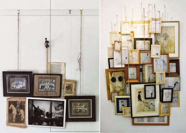 Inspiration vintage pour les nouveaux it cadres paperblog - Decorer un mur avec des cadres photos ...