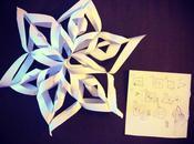 Noël: flocon papier