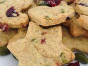 biscuits Noël pistaches cranberries