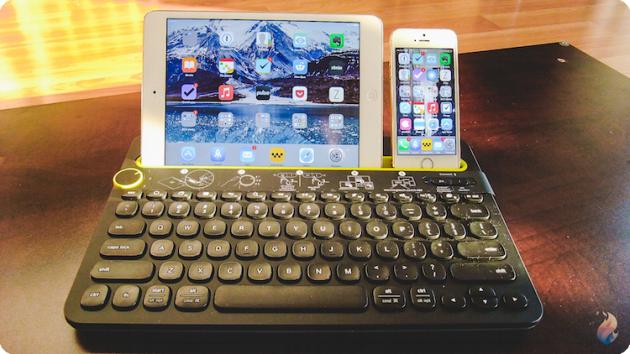 logitech k480 le clavier multifonctionnel pour mac iphone et ipad paperblog. Black Bedroom Furniture Sets. Home Design Ideas